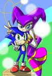 Sonic x NiGHTS +SAY CHEESE+