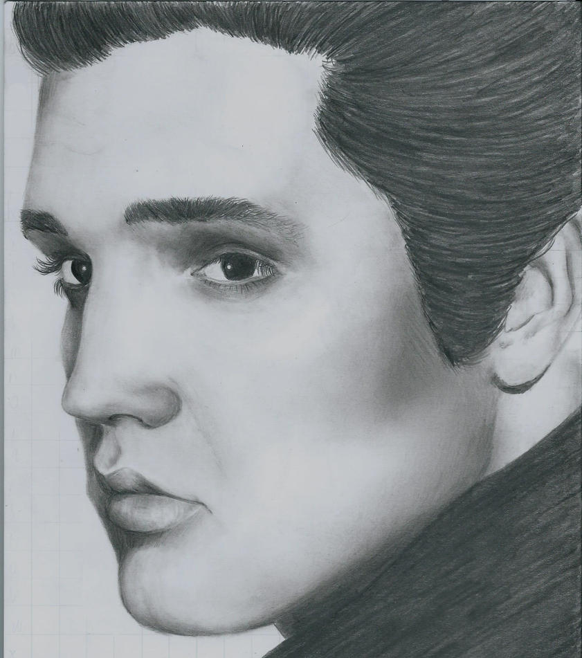 Elvis Presley Drawing By LifeGoesOn19