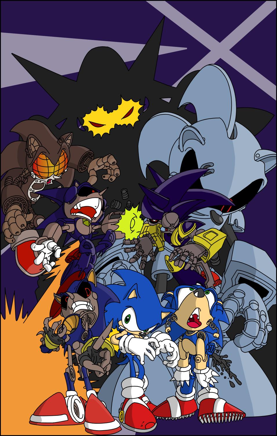 sonic metal madness by ssjcybersonic on deviantart