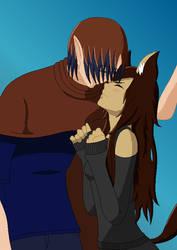 Shyful Kiss By Cutelittlebases