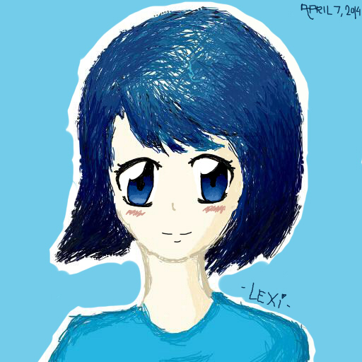 Ombre Blue by OfficialLexiC