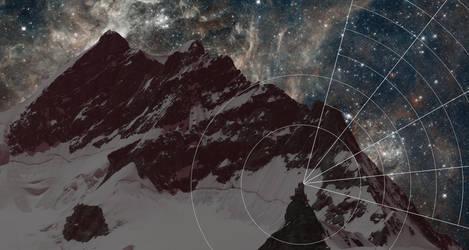 Mountains and space: Explorative guidelines by RoentgenDevice