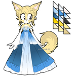 Regal Fennec Fox Adoptable SOLD