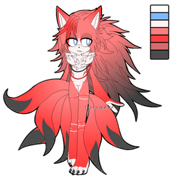 Six Tailed Kitsune Adoptable SOLD by Shyamiq