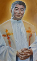 Oil Painting - A Priest