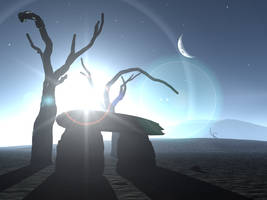 Celtic Moon by Malthus