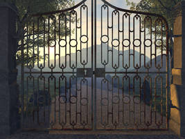 Beyond The Gate by Malthus