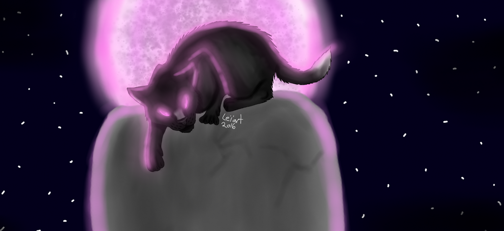 Pink Cat by cristalheart7