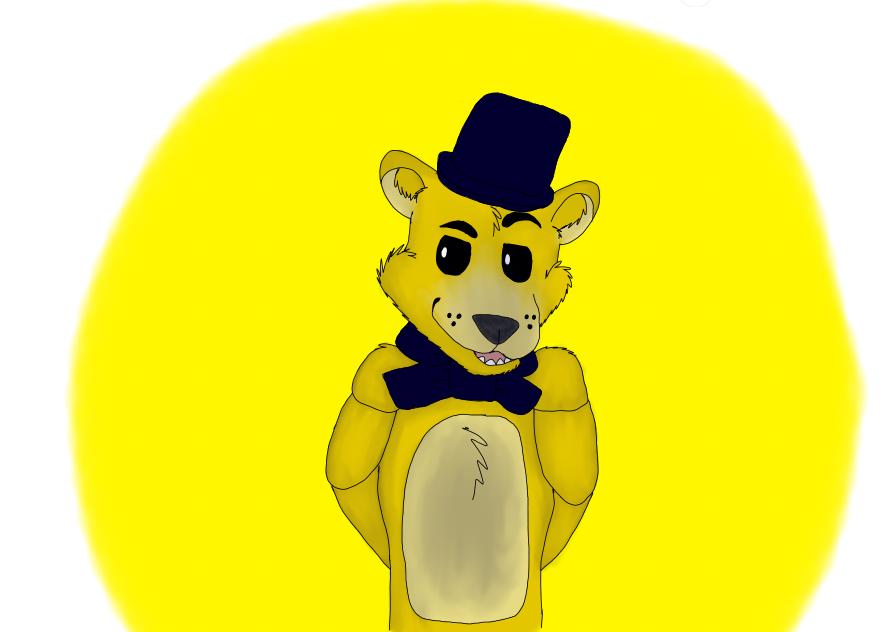 Golden Freddy by cristalheart7
