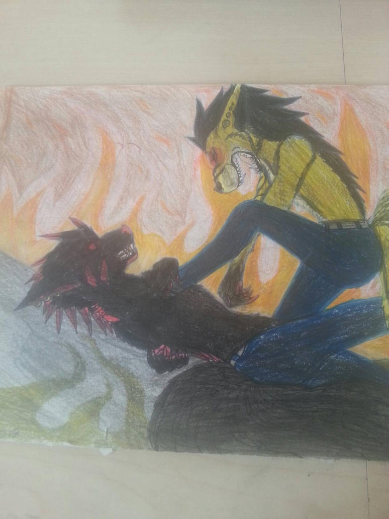 The Last Fight by cristalheart7