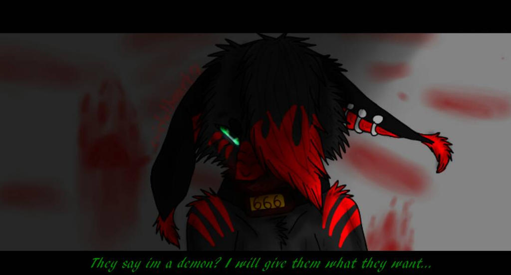 Prisoner 666/the Green Eyed Devil redraw by cristalheart7