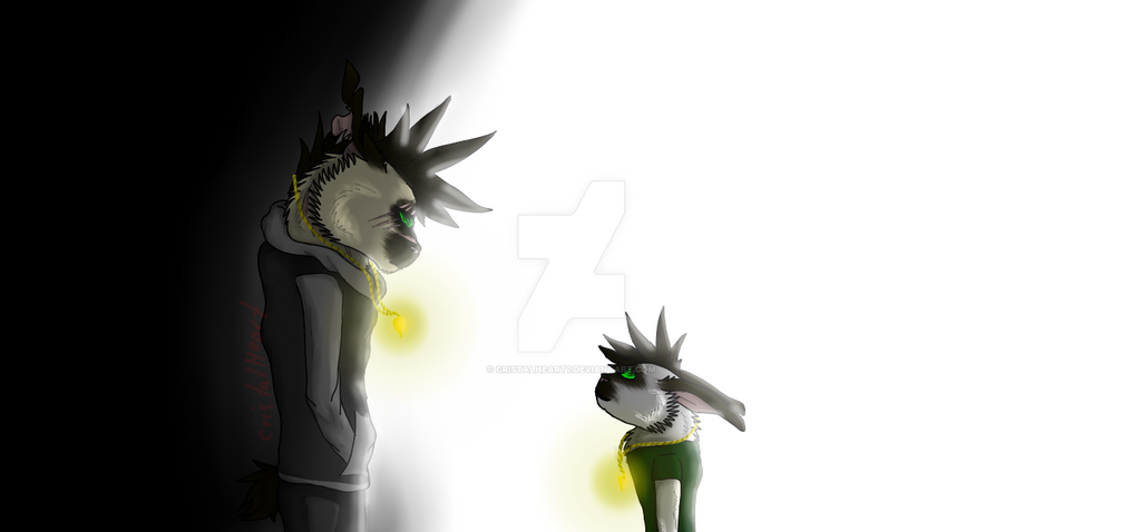 Haunted by the past(Redraw 2016 vs 2018) by cristalheart7