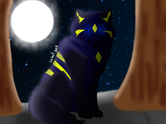 Moon warrior by cristalheart7
