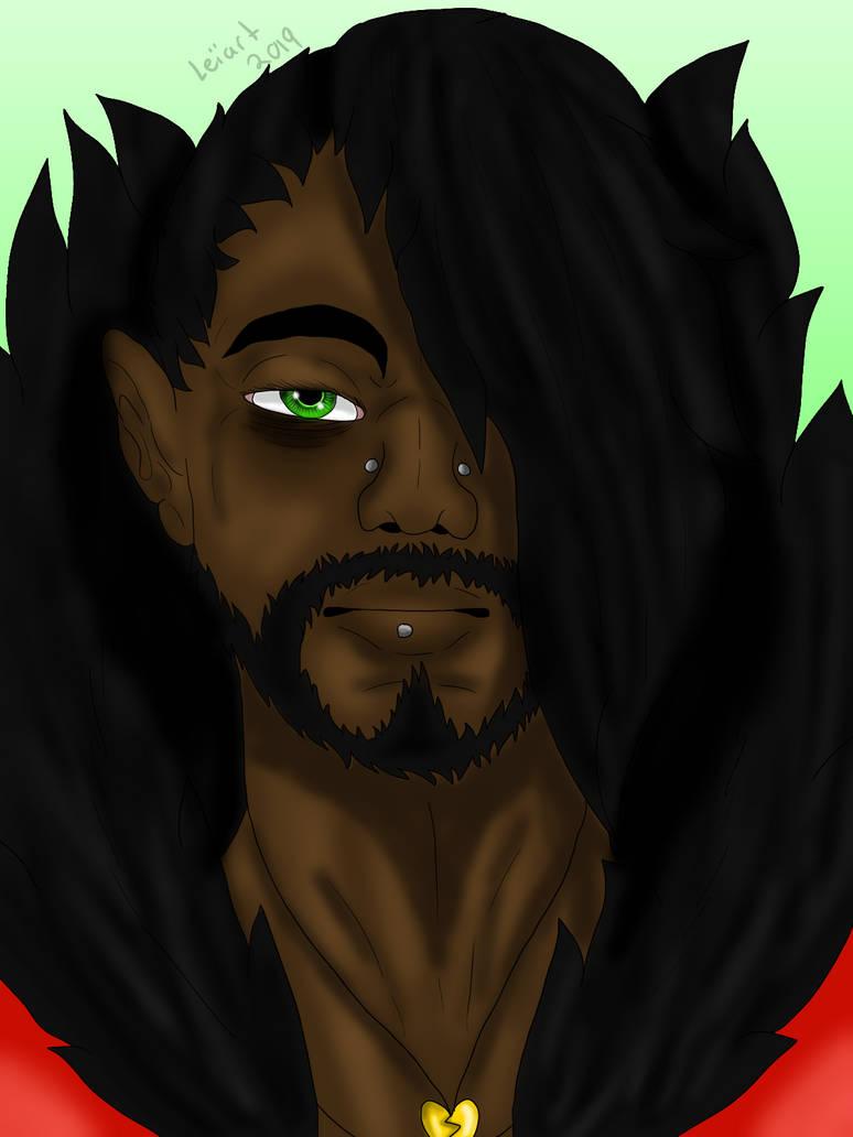 Green eyed devil by cristalheart7