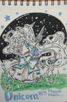 Magical March 2019 #13-Magical Girl Unicorn OC by Master-Blue-333