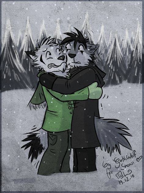 Hopefully It Stops Snowing by GothWolf-Lucifur