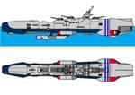CDF Battleship Radetsky