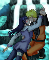 Commission - NaruHina by Ade-R