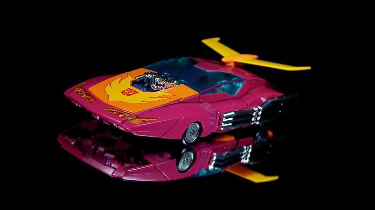 Transformers Masterpiece - Hot Rodimus 01 by Infinitevirtue