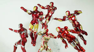 Iron Man Suits 01 by Infinitevirtue