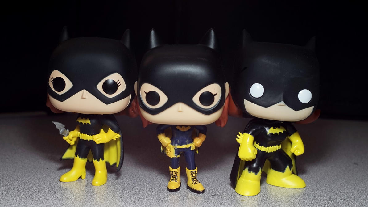 Funko Pop - Batgirls by Infinitevirtue