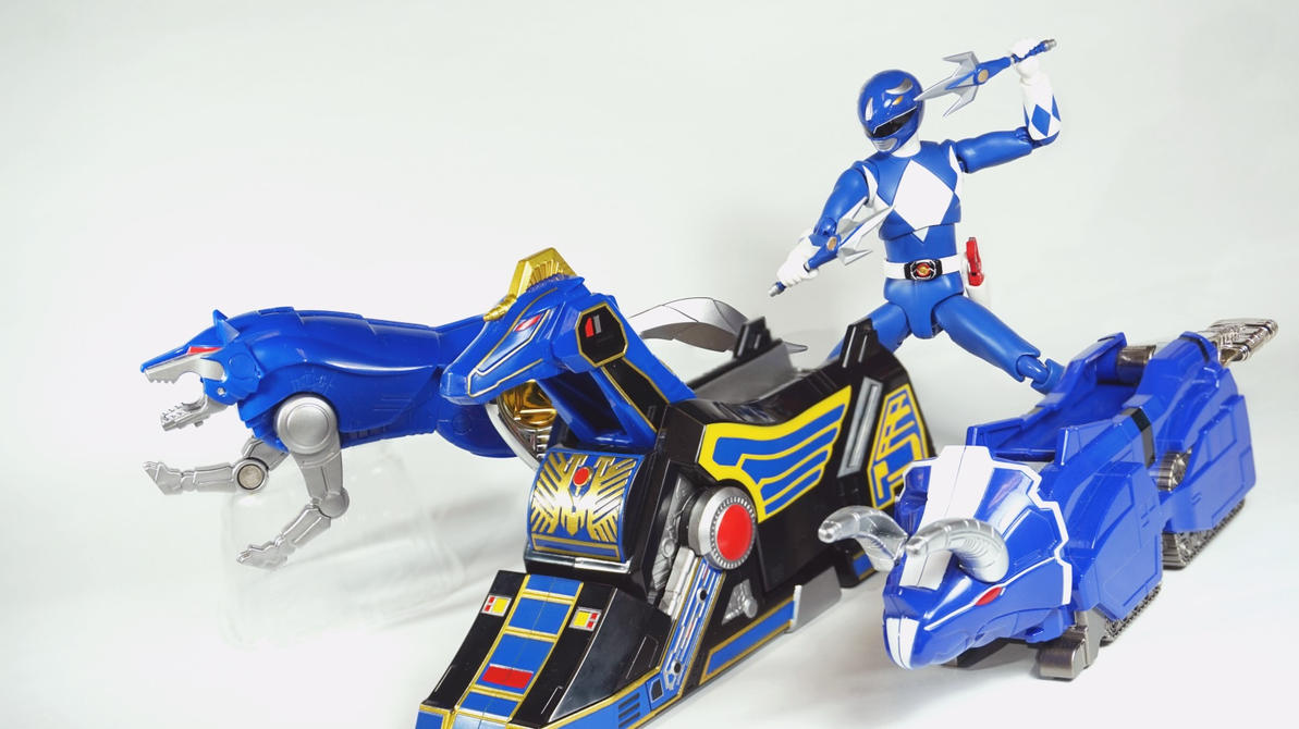 Blue wolf zord - photo#31