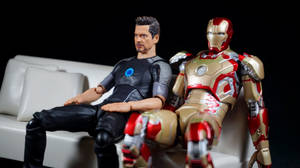 SH Figuarts Iron Man 3 Tony Stark 10