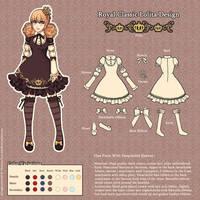 Royal Classic Lolita Design by nokecha