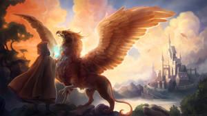Gryphon Healer by nokecha