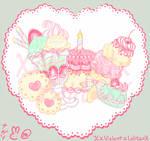 Sweet Birthday Textile Motif