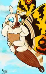 Mothra by kirmalight