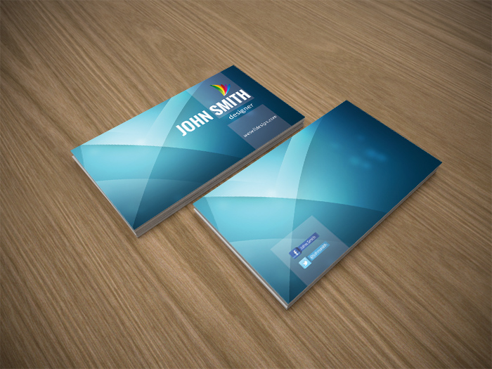 Blue business card template by crazyleafdesign on deviantart blue business card template by crazyleafdesign accmission Gallery