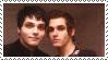 Gerard + Mikey Stamp by VAMPISAURUS