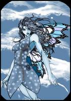 Winter Fairy by warriorCRACKER