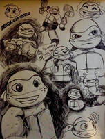 Mikey Pen Doodles by iHEartTheArts