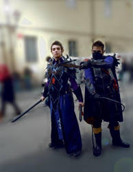 Warhammer dark elves cosplay. by DocSkavenger