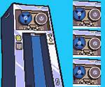 AdvanceWars 2 CO Portrait 'AI' by Metaru