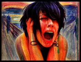 The Scream by tears-of-liquid-obsi