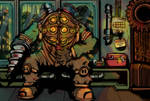 Bioshock Big Daddy Downtime