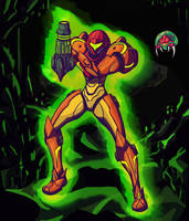 Metroid - Samus, Visions of a Hunter by Hellrain