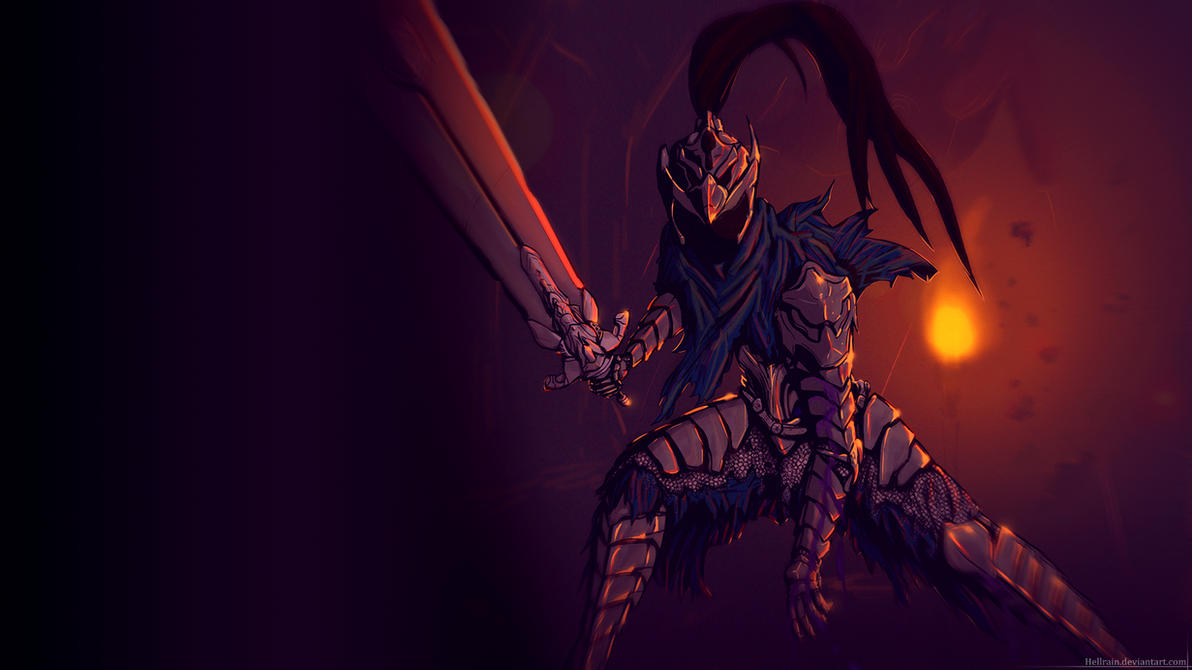 wallpaper artorias of the abyss 1920x1080 by hellrain on
