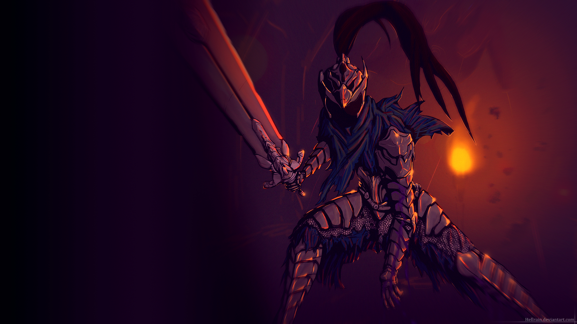 Wallpaper Artorias Of The Abyss 1920x1080 By Hellrain On Deviantart