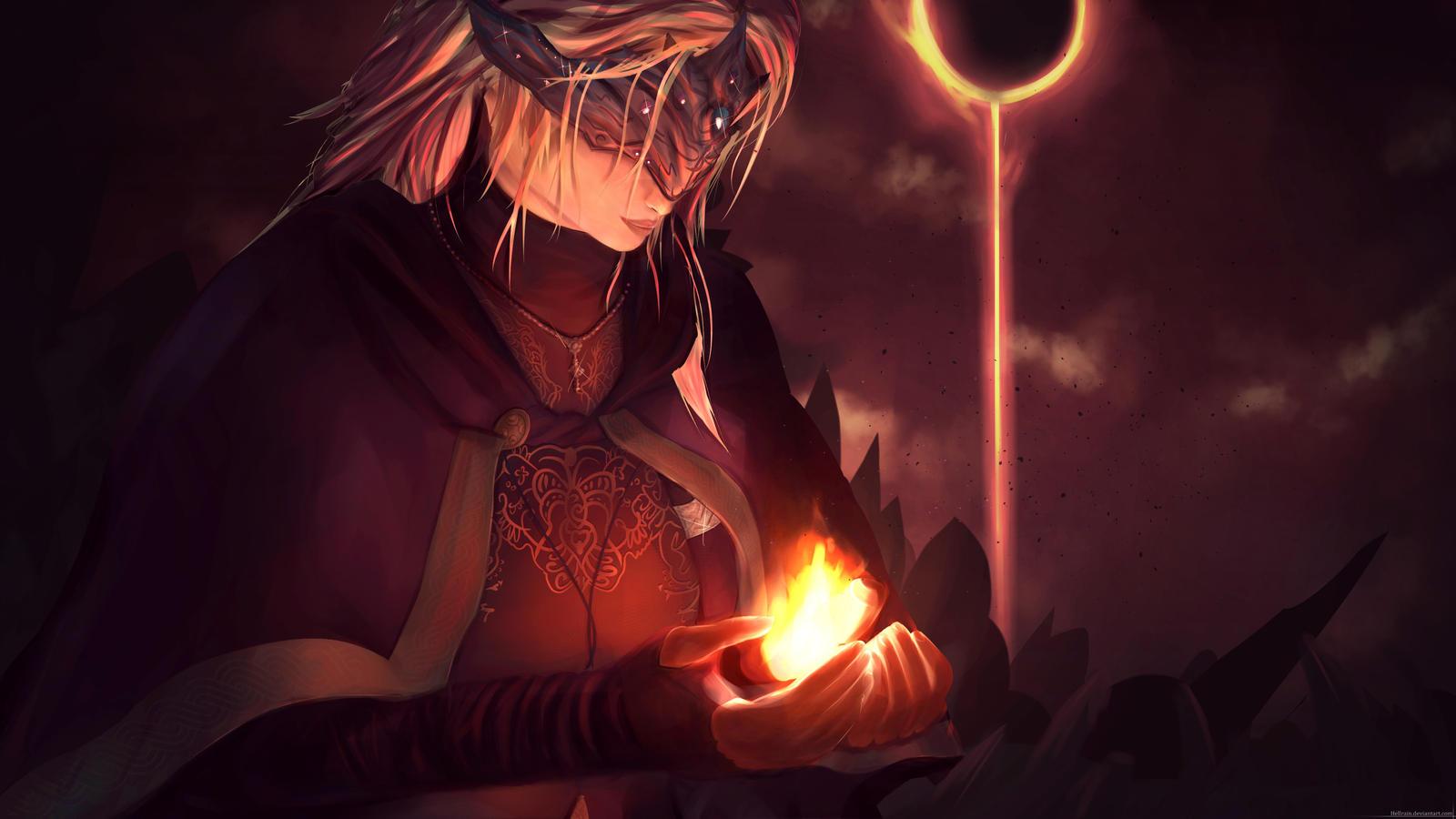 Dark Souls Fire Keeper Embrace Of Dark By Hellrain On Deviantart
