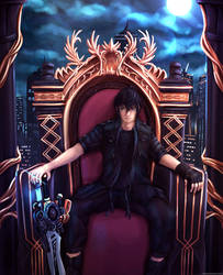 Final Fantasy XV - Noctis, Born to be King by Hellrain