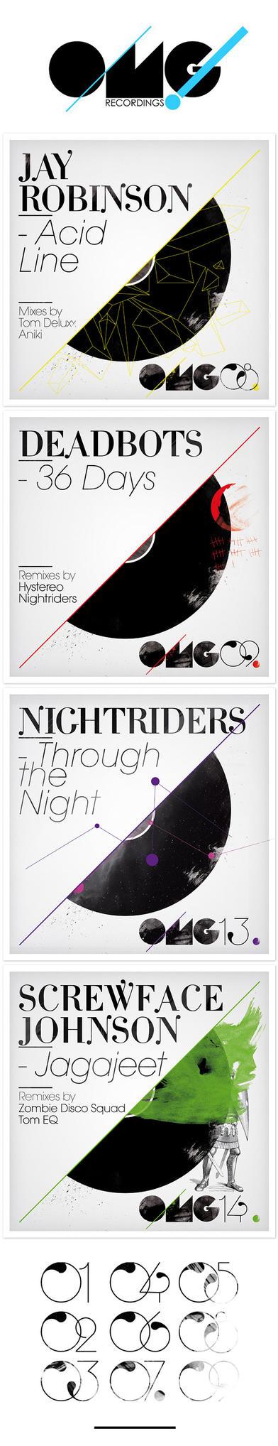 OMG recordings designs by incogburo