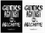 Geeks against the machine