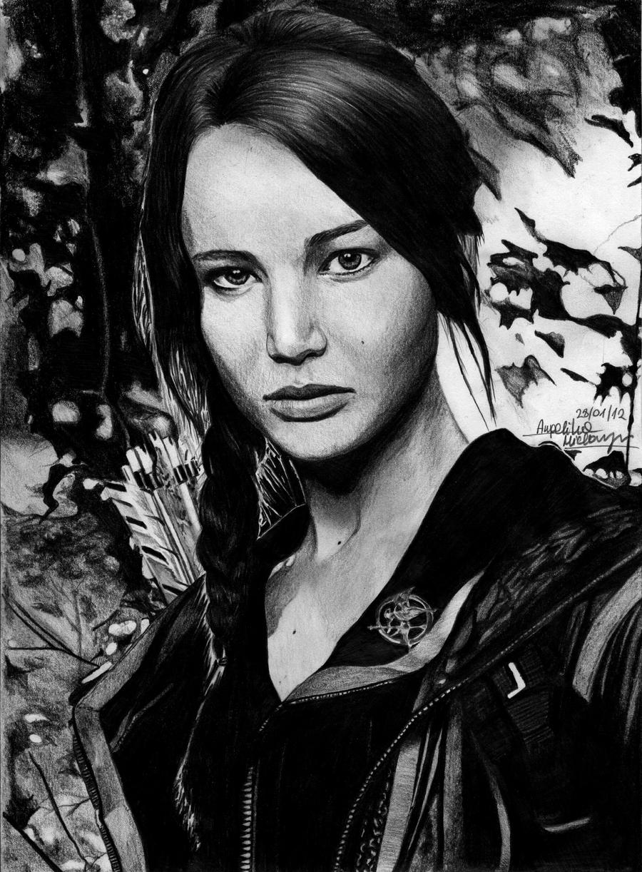 Katniss Everdeen by zgirl3210