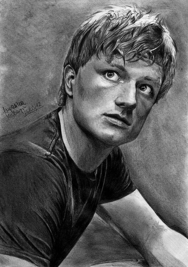 Hunger Games Peeta Drawing Peeta Mellark b...