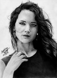 Jennifer Lawrence by angiebelikejolie