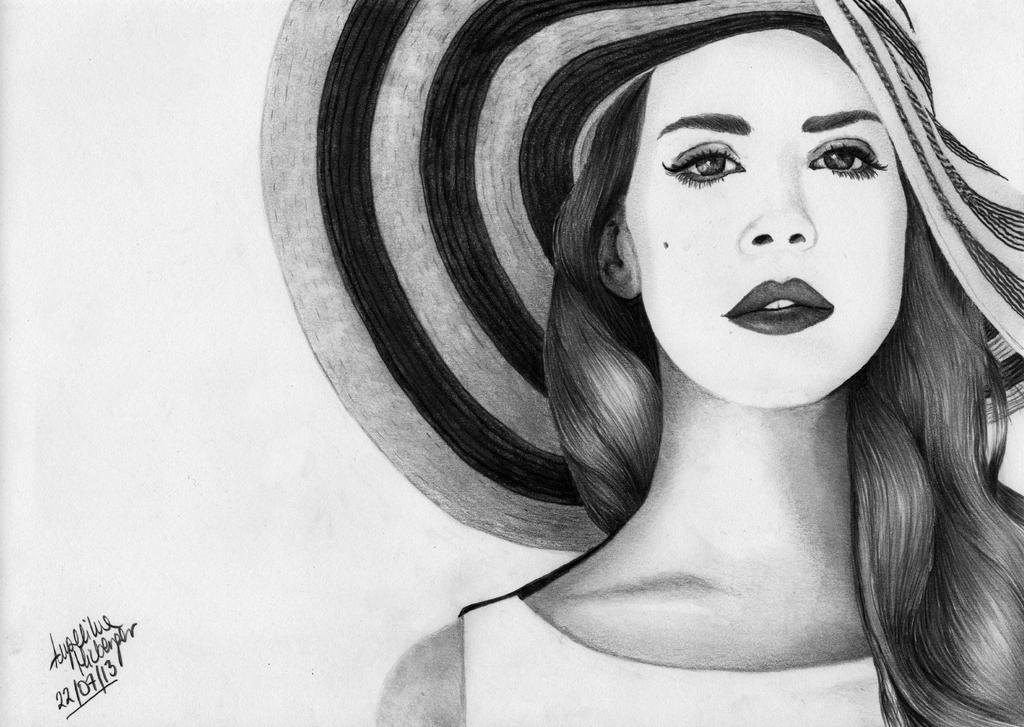 Lana Del Rey by angiebelikejolie on DeviantArt